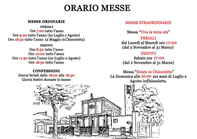 ORARIO MESSE