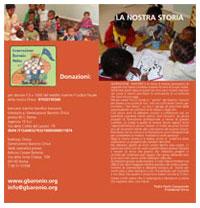 Brochure onlus Generazione Baronio